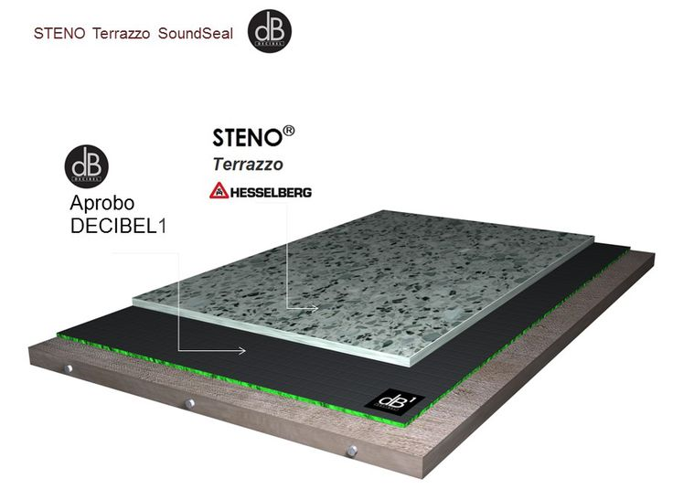 decibel, soundeal, terrazzo