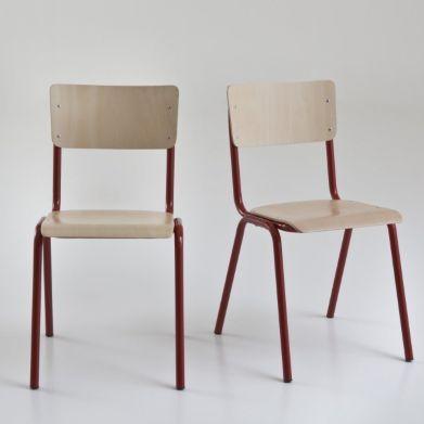 1000 id es sur le th me chaise empilable sur pinterest chaises magis et pa - Chaise style ecolier ...