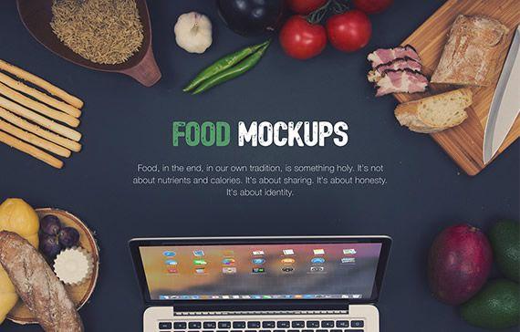 Food Hero Headers Macbook Mockups