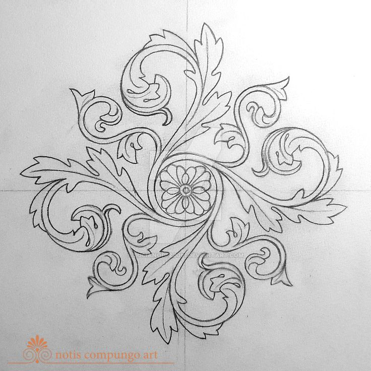 Baroque mandala by LucianoPezzoli.deviantart.com on @DeviantArt
