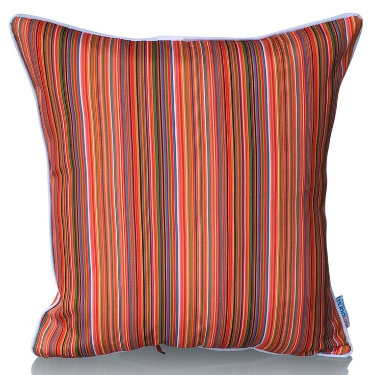 Study with Piping. You are purchasing the cushion cover only, the price does not include the inner. Sunburst cushion covers are suitable for both indoor and outdoor use. #sunburstoutdoorliving #cushions #Kombi #cushioncovers #myhousebeautiful