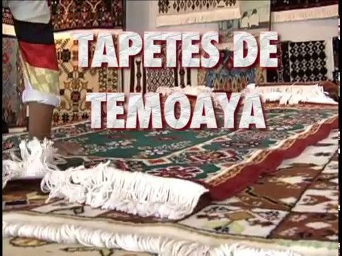 Tapetes de Temoaya: Arte popular mexicano