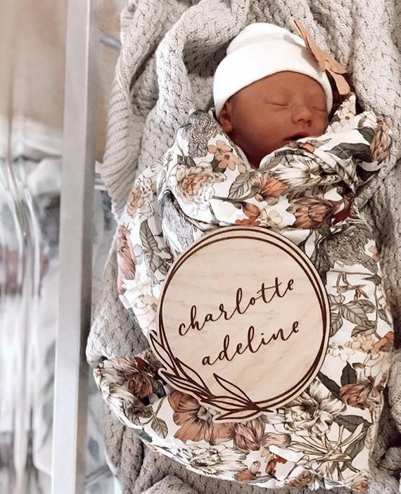Engraved wood name sign newborn sign name sign newborn photography prop Engraved newborn name sign engraved name sign
