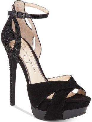 Jessica Simpson Wendah Platform Evening Sandals #peeptoe #sale #shoes #hot