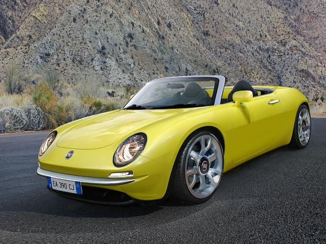 new fiat 850 spider concept i want at least one. Black Bedroom Furniture Sets. Home Design Ideas