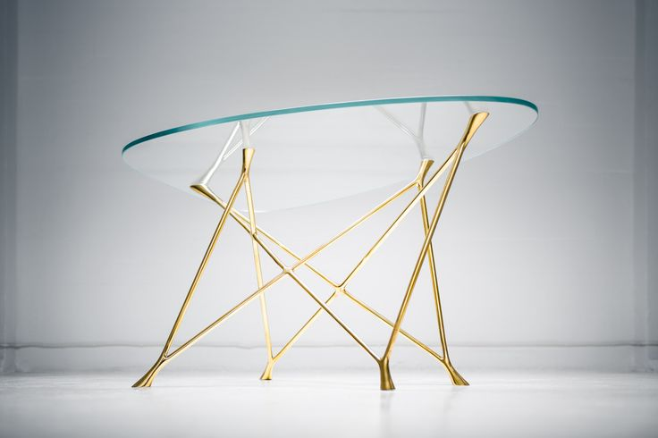 Yrjö Glass Table by Ateljé Sotamaa