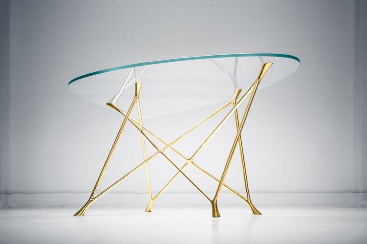 Yrjö Glass Table by Ateljé Sotamaa