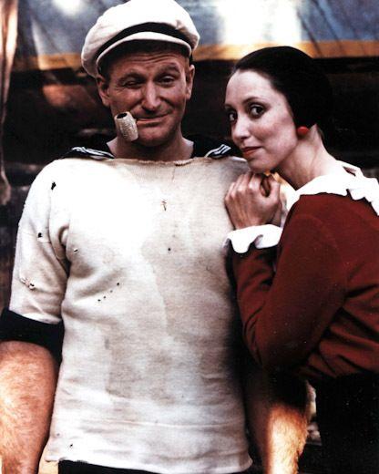 Robin Williams & Shelly Duvall - Popeye, 1980