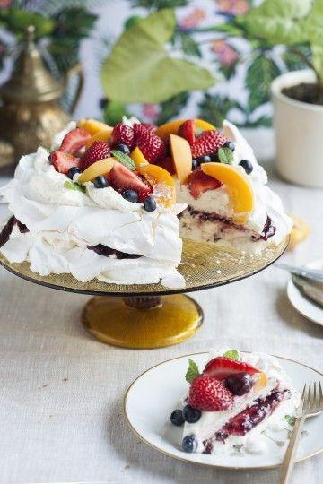 #pavlova #beza z owocami. #merengue #desert #summerfruits #fruits #delektujemy