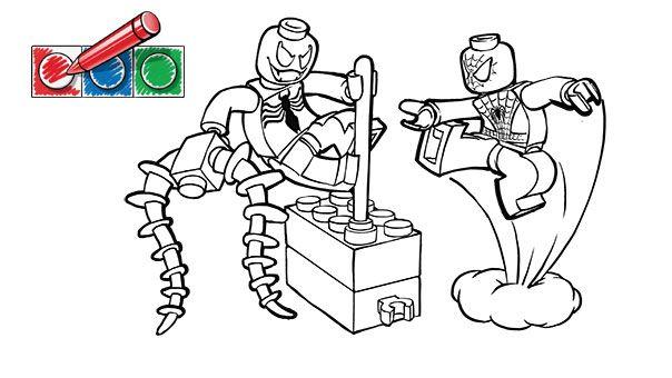 Lego Superhelden Malvorlagen: LEGO.com Juniors Downloads