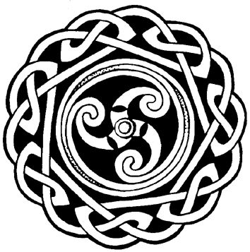Found out this was a symbol for strength. I always thought of the three swirls as the Trinity.