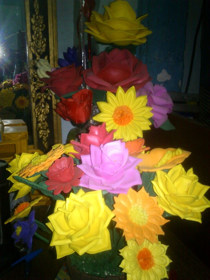 Flores de Foami