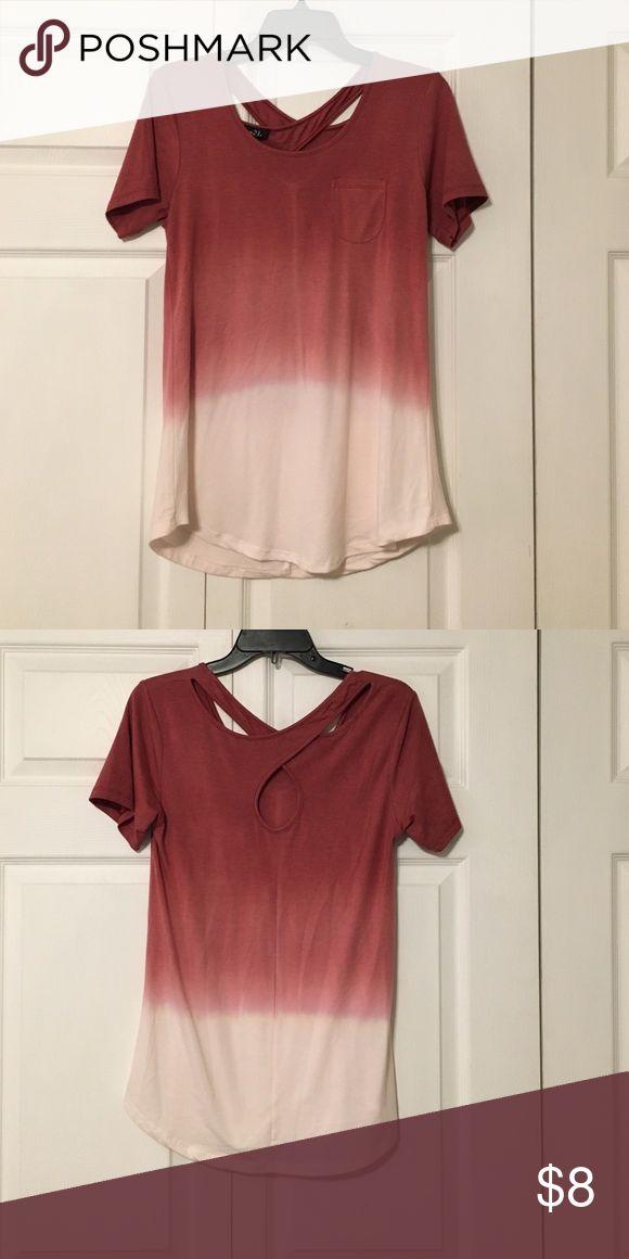 Long Ombré Shirt Never worn! NWOT! Very comfortable Rue 21 Tops Tees - Short Sleeve