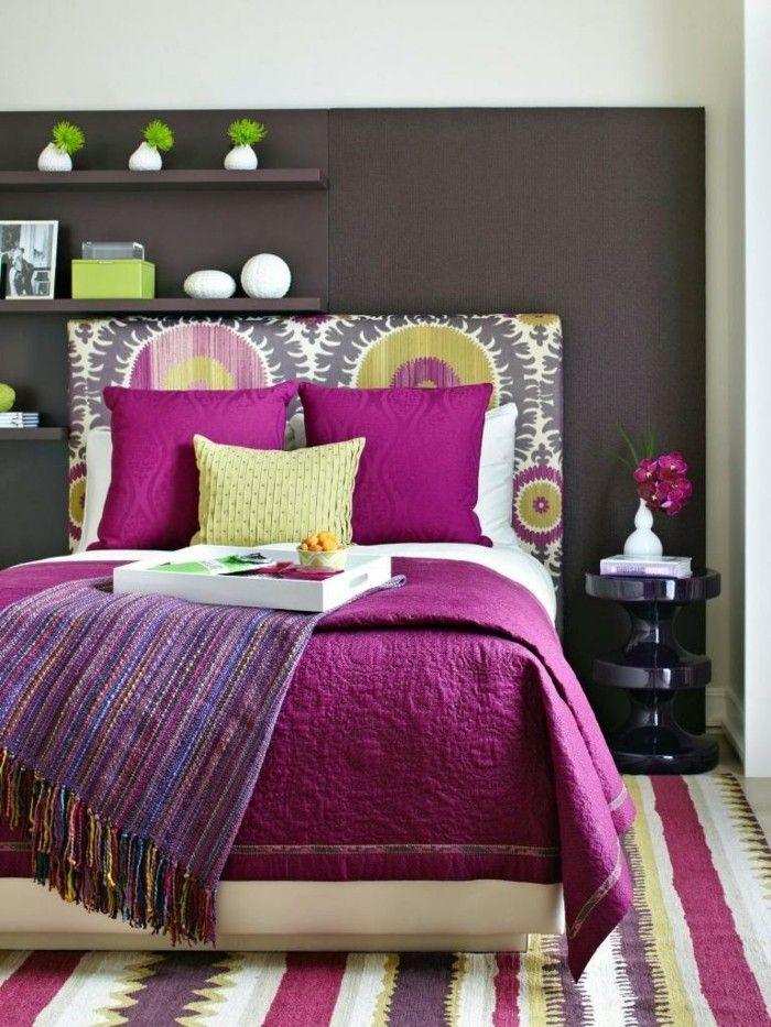 Die besten 25+ Magenta schlafzimmer Ideen auf Pinterest - moderne schlafzimmer farben