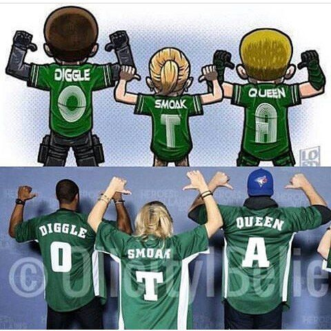 """Original Team Arrow""❤ I love the other team members too, though."