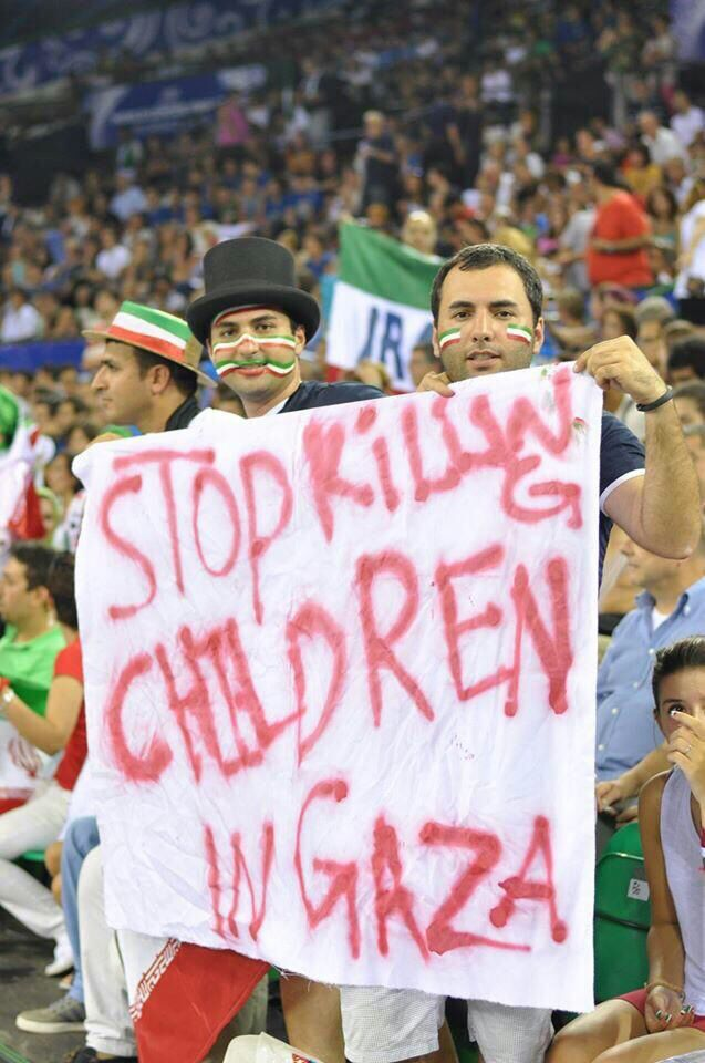 Since when are the innocent children of Gaza such a threat to Israel?