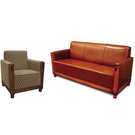 art deco fauteuil bank verkrijgbaar bij art deco armchair couch. Black Bedroom Furniture Sets. Home Design Ideas