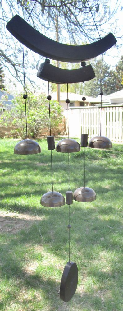 "Asian Wind Chime Temple Bells Zen Feng Shui 34"" #Unbranded #Asian"