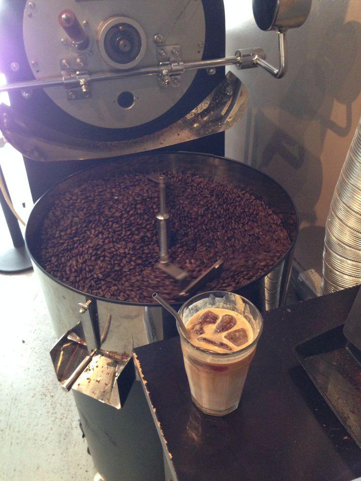 Triple Pick Coffee, Bondi Junction, Sydney Ice Coffee with Cold Drip Ice Cubes - Isaac Livett