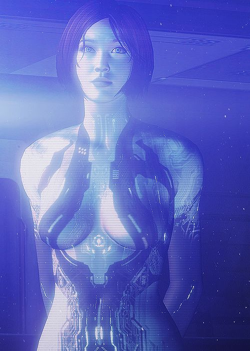 """""""Don't make a girl a promise if you know you can't keep it"""" - Cortana"""
