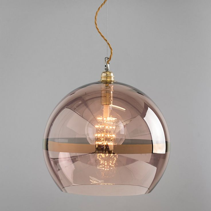 Bedroom Ceiling Lights John Lewis : Ebb flow striped rowan pendant copper toilets high