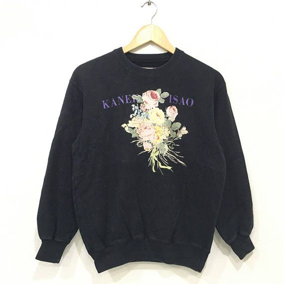 KANEKO ISAO Fashion Designer sweatshirt Pullover Jumper Design