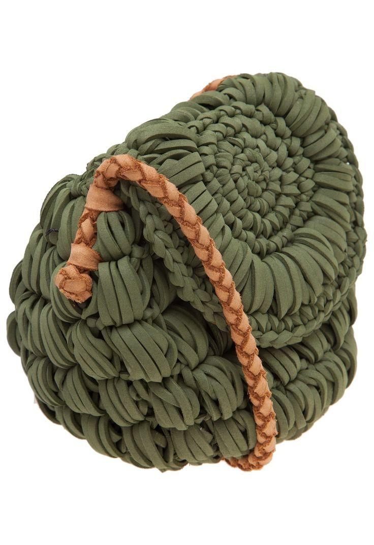 CECILIA MACHADO - Bolsa tiracolo circle - verde - OQVestir