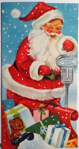 777 best santa claus images on pinterest christmas cards for Santa cards pinterest