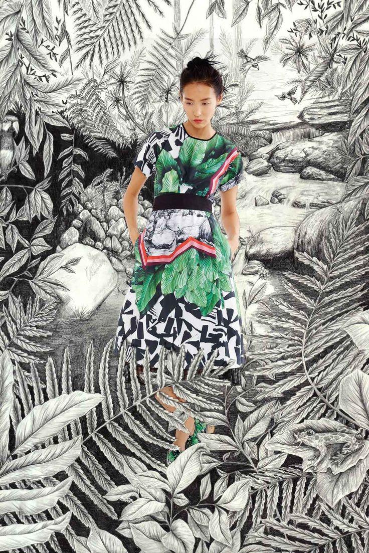 Clover Canyon printemps Prêt à porter Mirjam Roudén Textile Design Studio