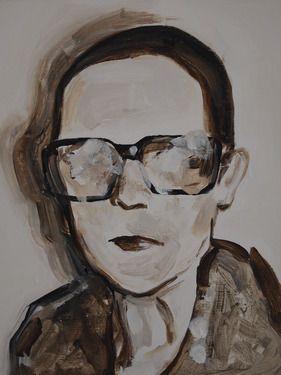 "Saatchi+Online+Artist+Miguel+Laino;+Painting,+""portrait""+#art"
