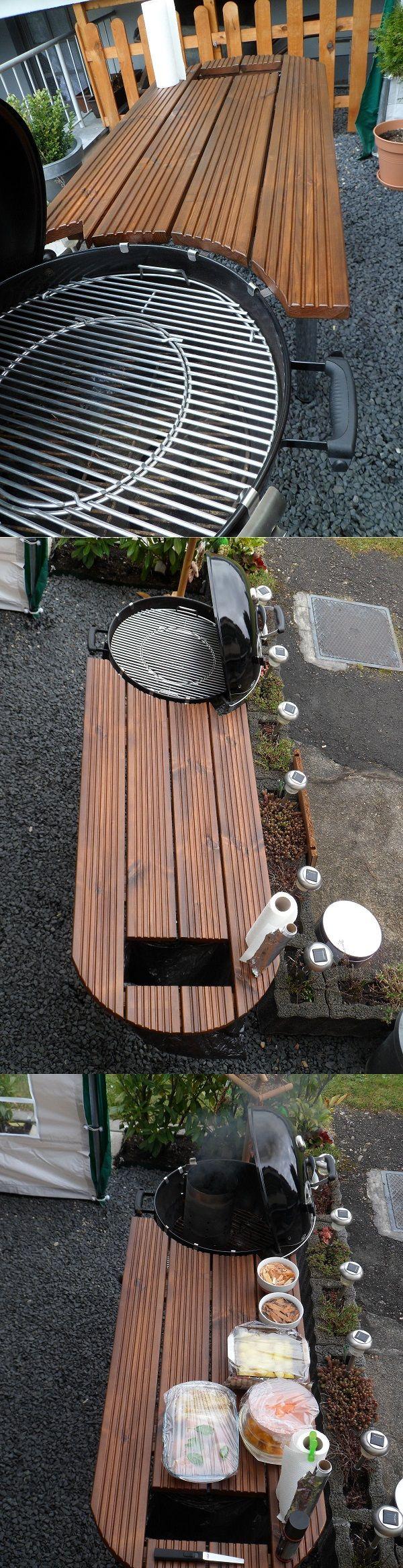 Tisch für WEBER GRILL ONE TOUCH 57cm – Details
