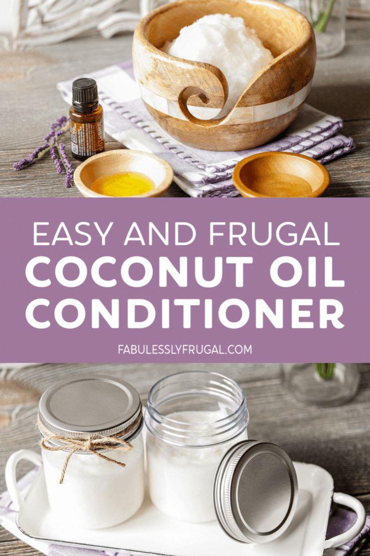 Diy coconut oil conditioner recipe fabulessly frugal
