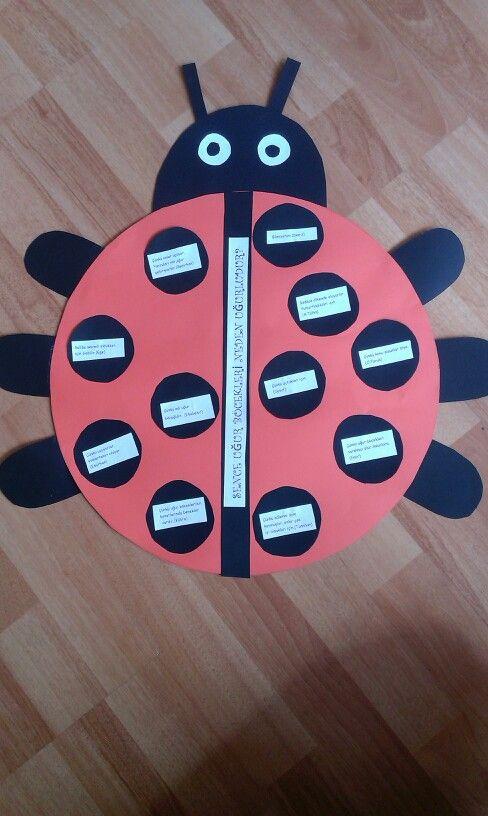 Ladybug, ugur bocegi etkinlik
