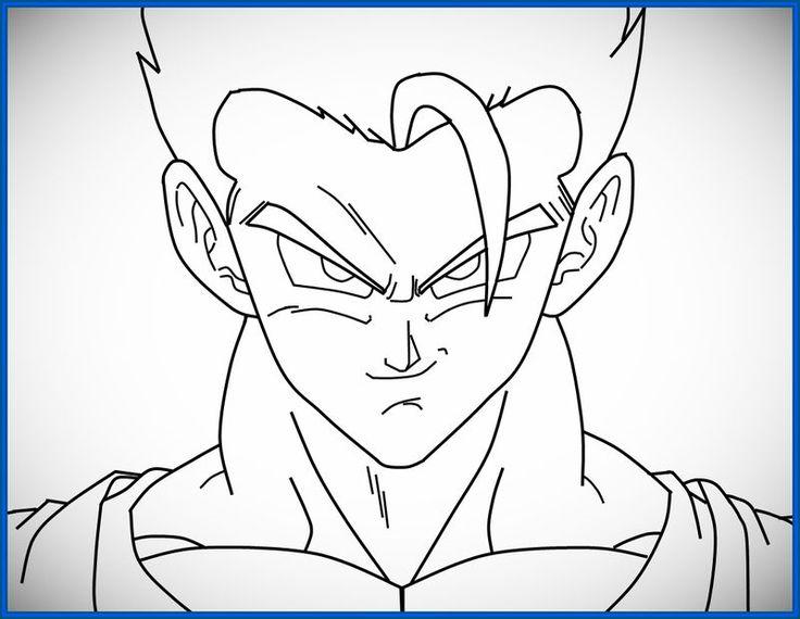 Dibujo De Goku Y Vegeta Para Imprimir Y Colorear: Imagenes De Vegeta Para Colorear: Freezer Para Colorear
