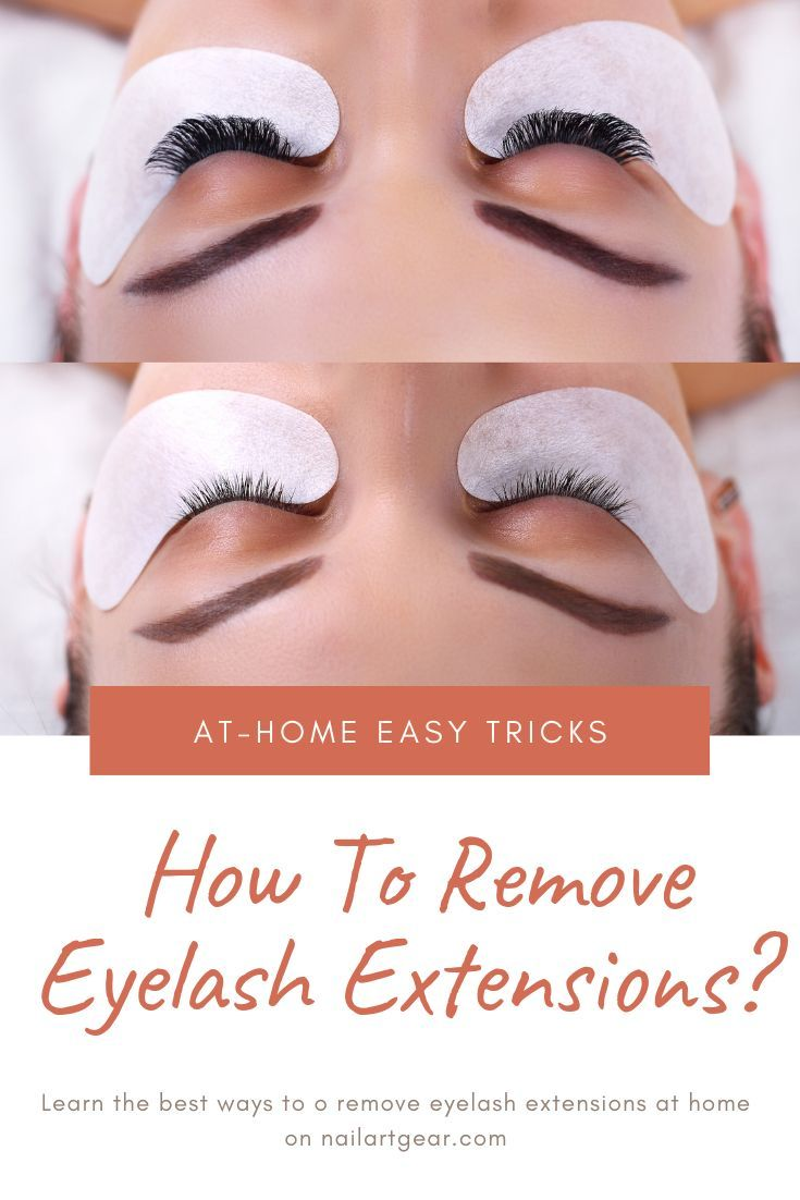How To Remove Eyelash Extensions With Vaseline Coconut And Olive Oil Eyelash Extensions Eyelash Extension Removal Eyelashes