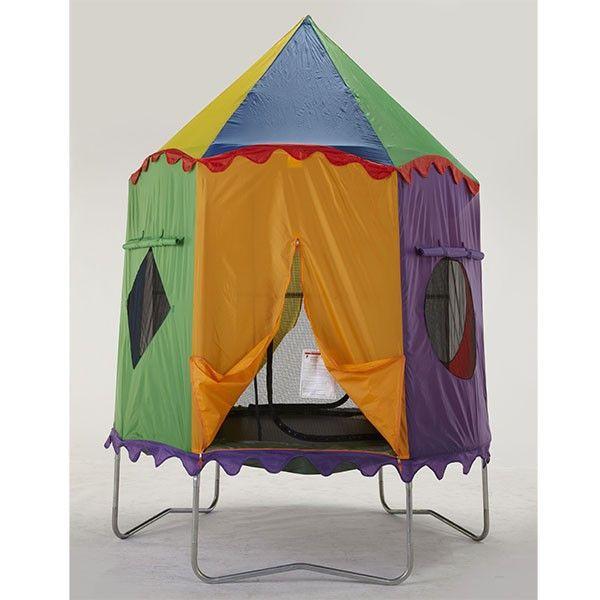 25+ Best Ideas About Trampoline Tent On Pinterest