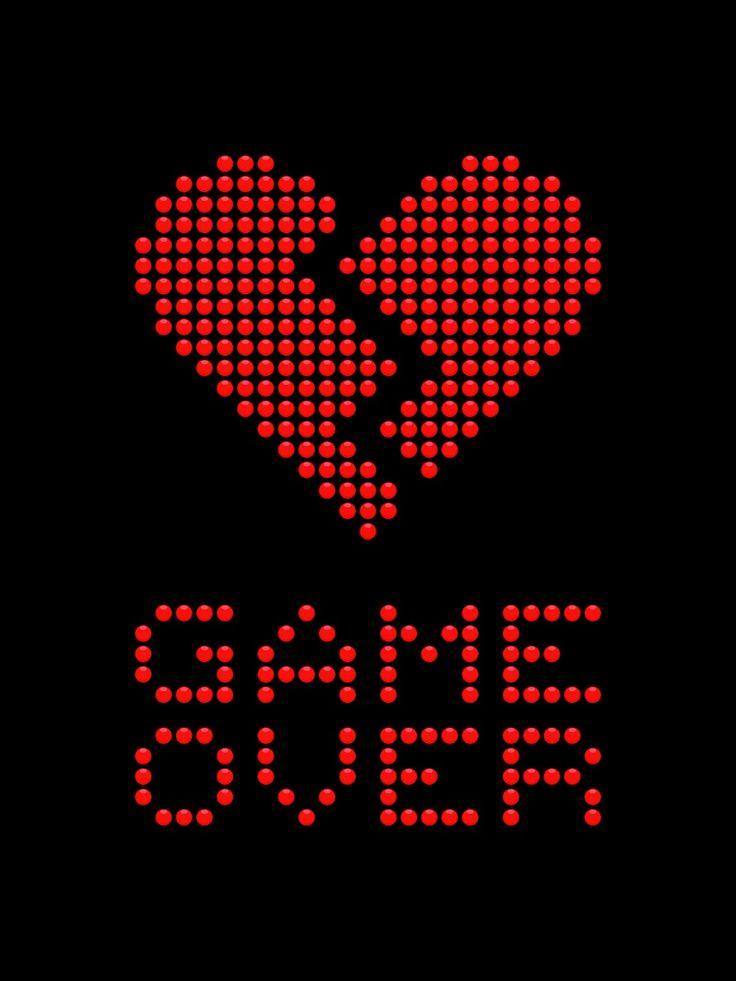 Game Over. | Así...☀️ | Pinterest | Gaming