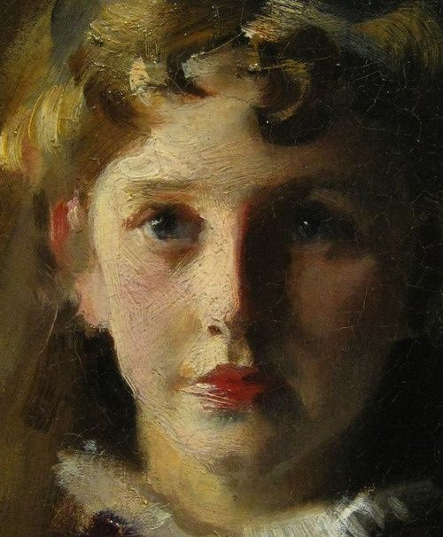 the close up (John Singer Sargent)