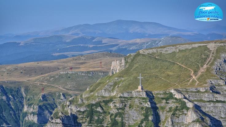 Bucegi Mountains and Caraiman Cross http://www.zborpestetransilvania.ro/muntii-bucegi/
