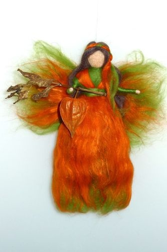17 Best images about needle felted fairy autumn on