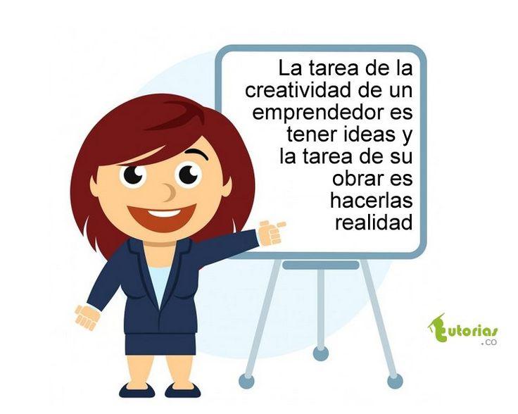 La tarea de la creatividad.