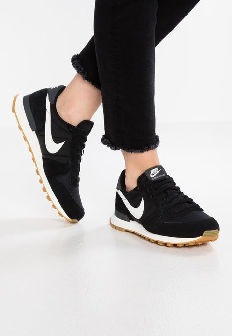55f83c764f2e Nike Sportswear INTERNATIONALIST - Trainers - black summit white anthracite  sail - Zalando.co.uk