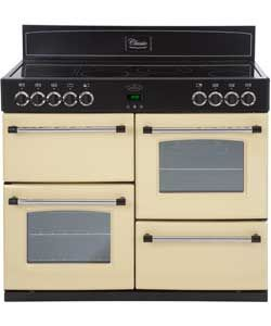 Belling Classic 110E Electric Range Cooker - Cream.