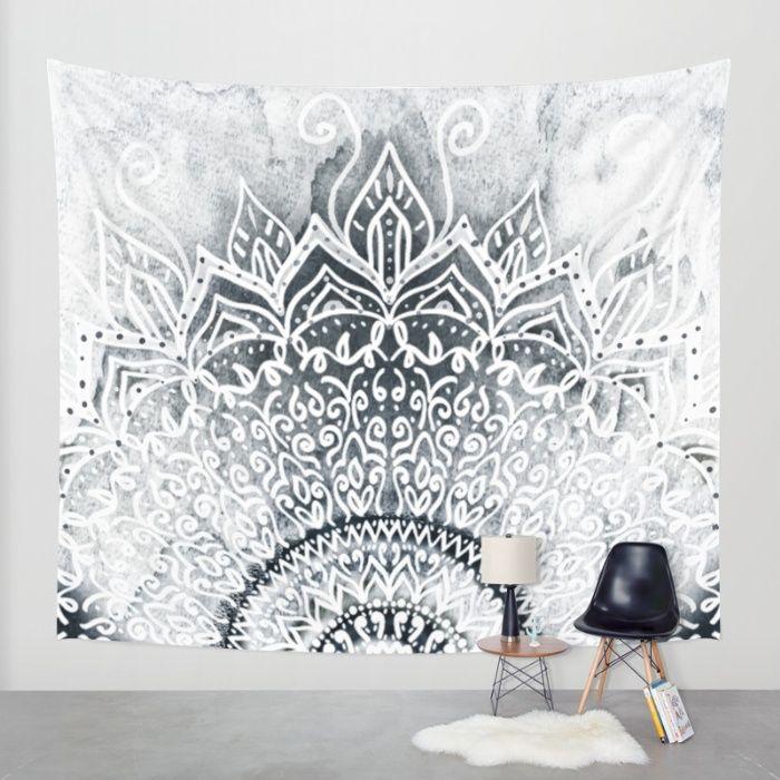 MINA MANDALA Wall Tapestry by Nika