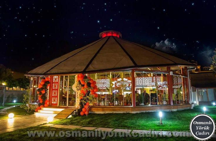 Kıl Çadır - Düğün Salonu - Kafe - Restoran Modeli