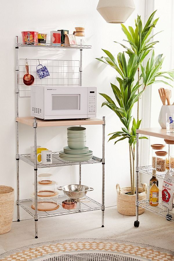 Erin Metal Kitchen Rack With Images Kitchen Design Small