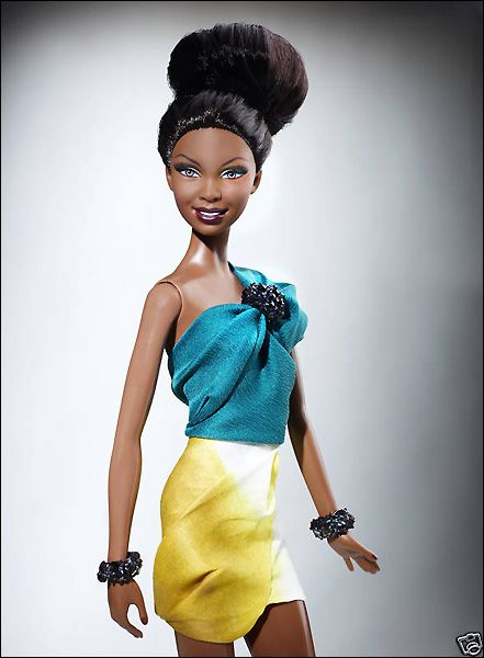 Эксклюзивная кукла Барби от Рэйчел Рой Rachel Roy