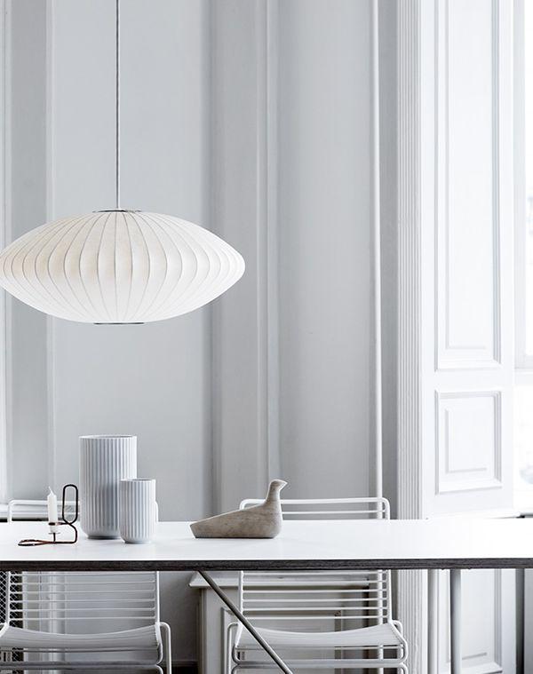 Profil | Sharyn Cairns | George Nelson Saucer Pendant Lamp | http://modernica.net/saucer-lamp.html