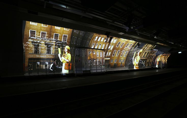 Insighful technical run down of the restoration of The Postal Museums Mail Rail underground network as it opens to the public #Digital_Projection #Projection #Underground_Enclosures #Audio_Visual