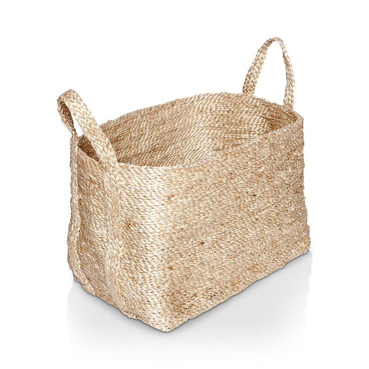 The Dharma Door Small Jute Basket $99.99